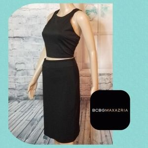 Black Pencil Skirt By BCBGMAXAZRIA